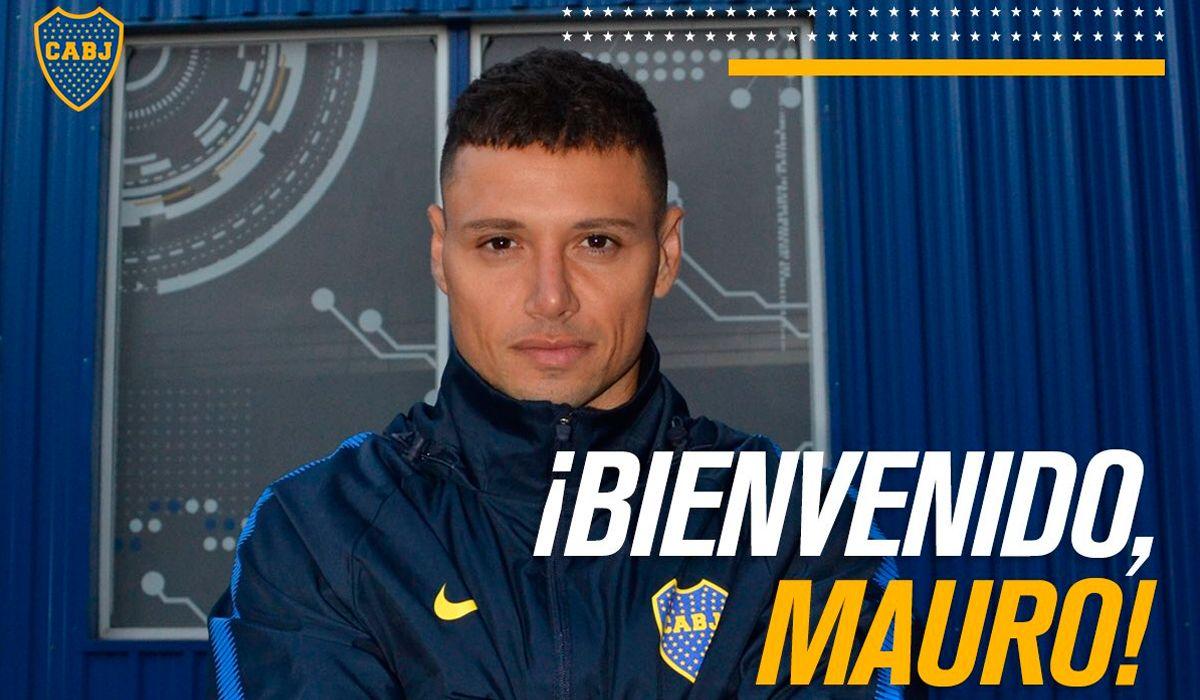 Es oficial: en medio de la gran polémica, Boca le dio la bienvenida a Mauro Zárate