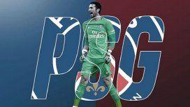 Buffon fue presentado en el PSG