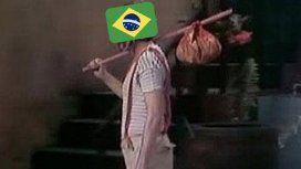 Memes por la eliminación de Brasil de Rusia 2018
