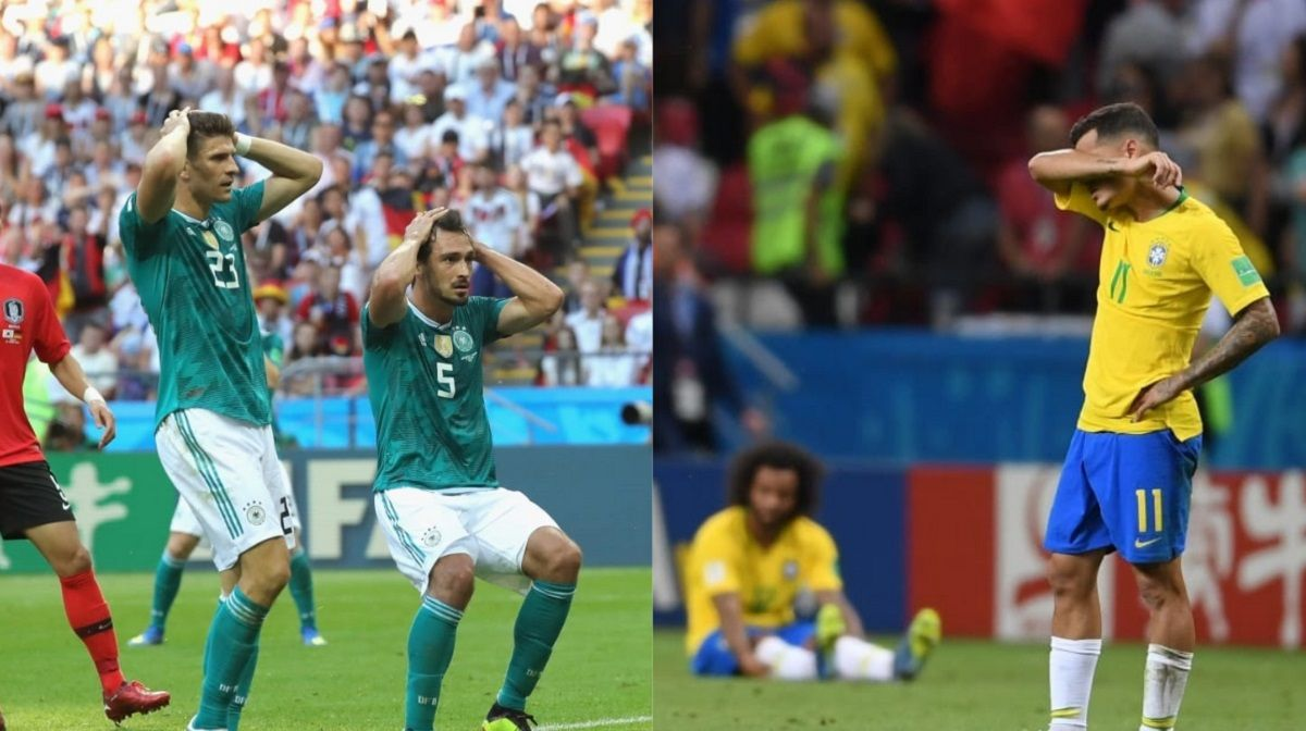 Brasil y alemania en Rusia 2018 - Crédito:www.fifa.com