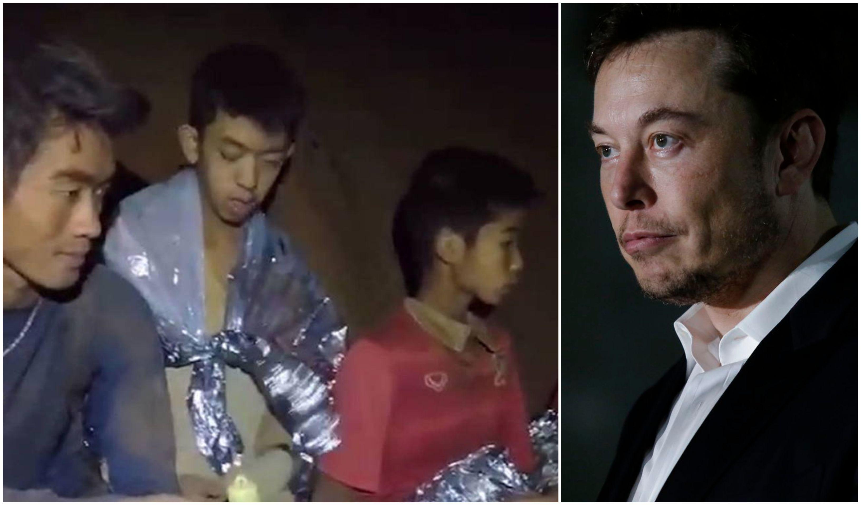 Los niños de la cueva de Tailandia y Elon Musk