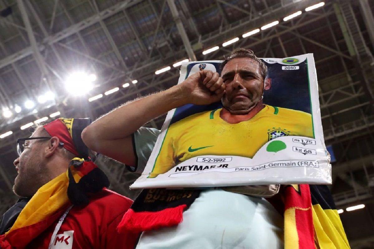 Brasil quedó eliminado de Rusia 2018 ante Bélgica