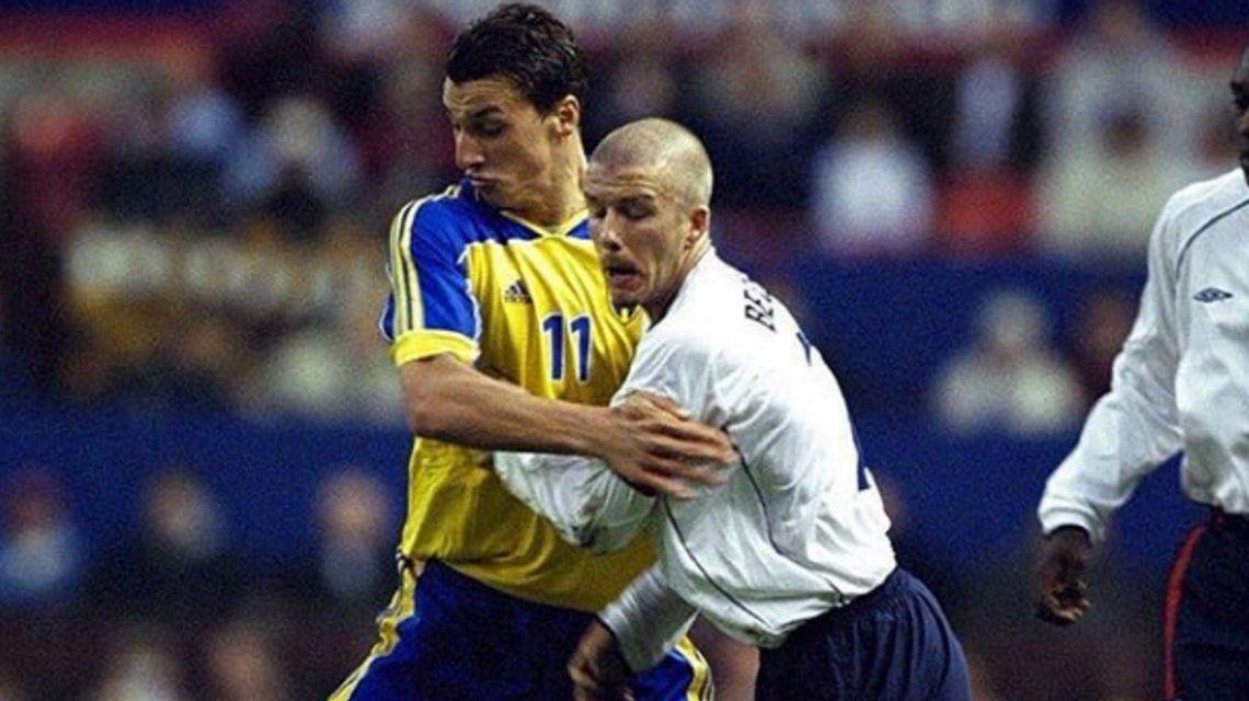 La apuesta que David Beckham le ganó a Zlatan Ibrahimovic