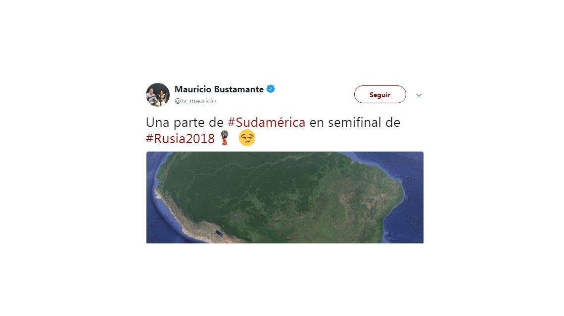 Un periodista chileno quiso hacer un chiste sobre el Mundial diciendo que las Malvinas son inglesas