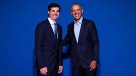 Urtubey estuvo con Obama en la Cumbre de Innovación Tecnológica y Economía Circular en Madrid