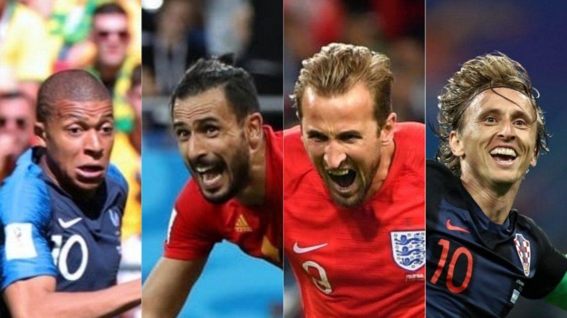 Semifinales en Rusia 2018 - Crédito: fifa.com