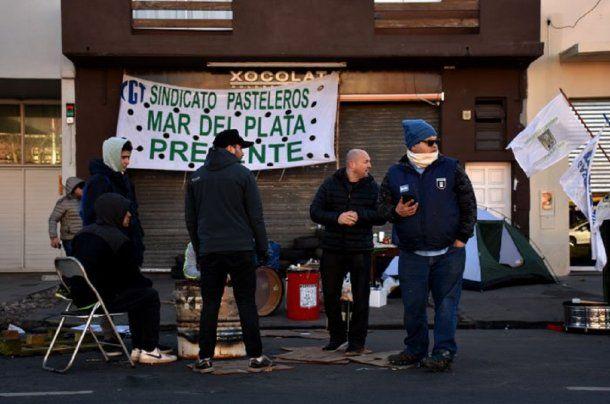 Trabajadores de La Boston protestan contra los <a href=