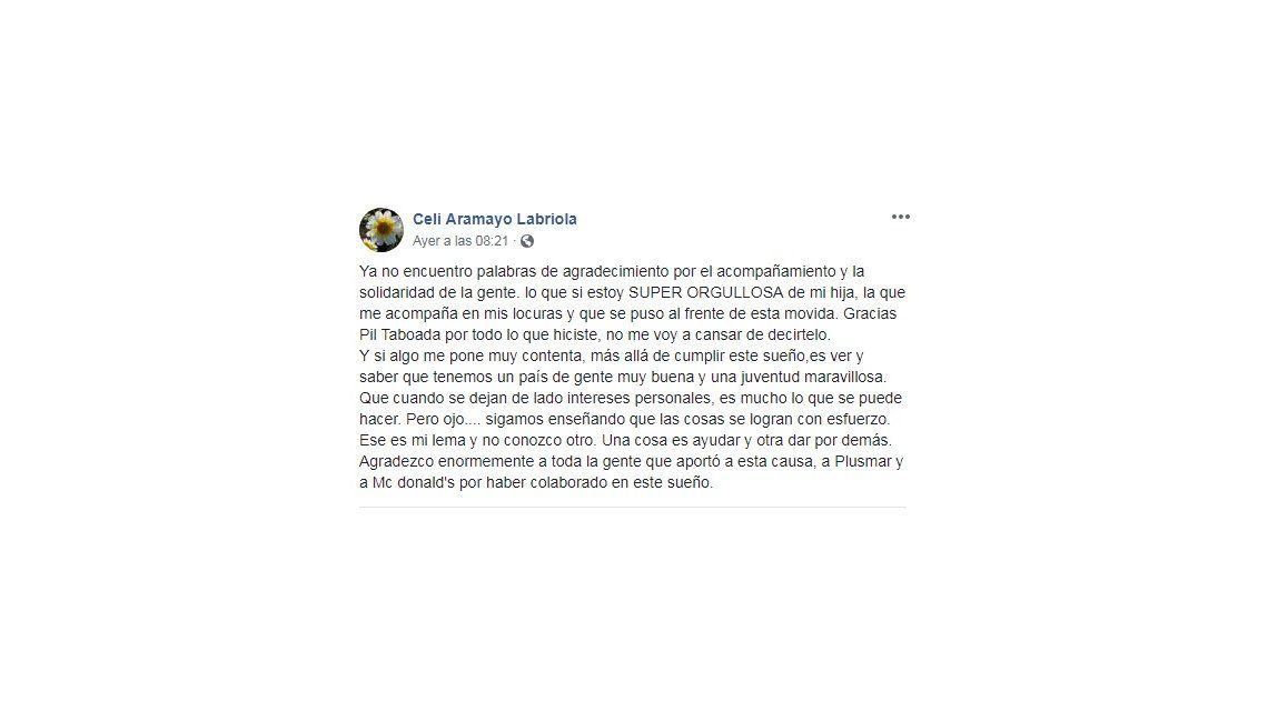 Quiere llevar a sus alumnos al Teatro Colón, su hija pidió ayuda en redes sociales y se viralizó