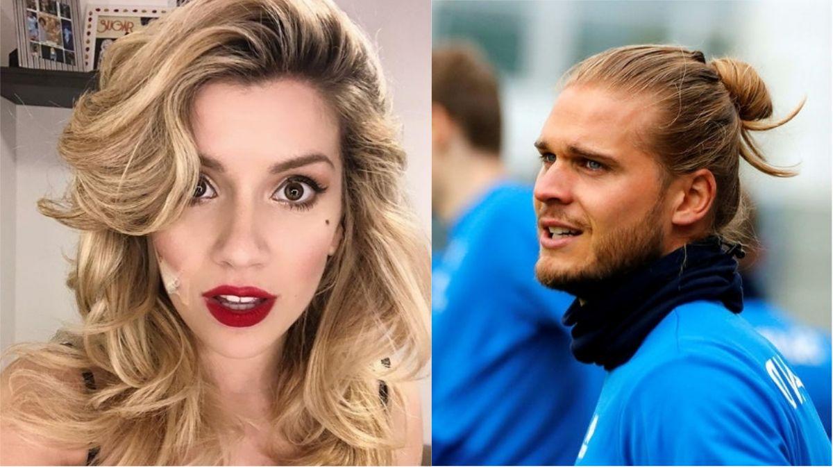 Laurita Fernández contó que chatea con el jugador Islandés Rurik Gislason