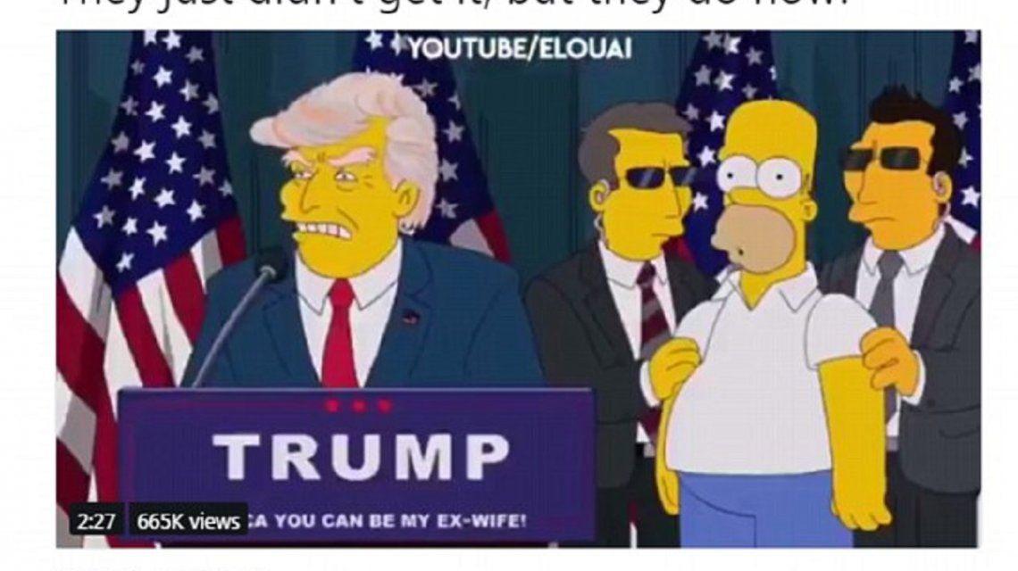 El insólito tuit de Donald Trump