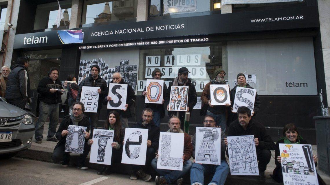Despidos en Télam| Un aval judicial que va en contra de los trabajadores