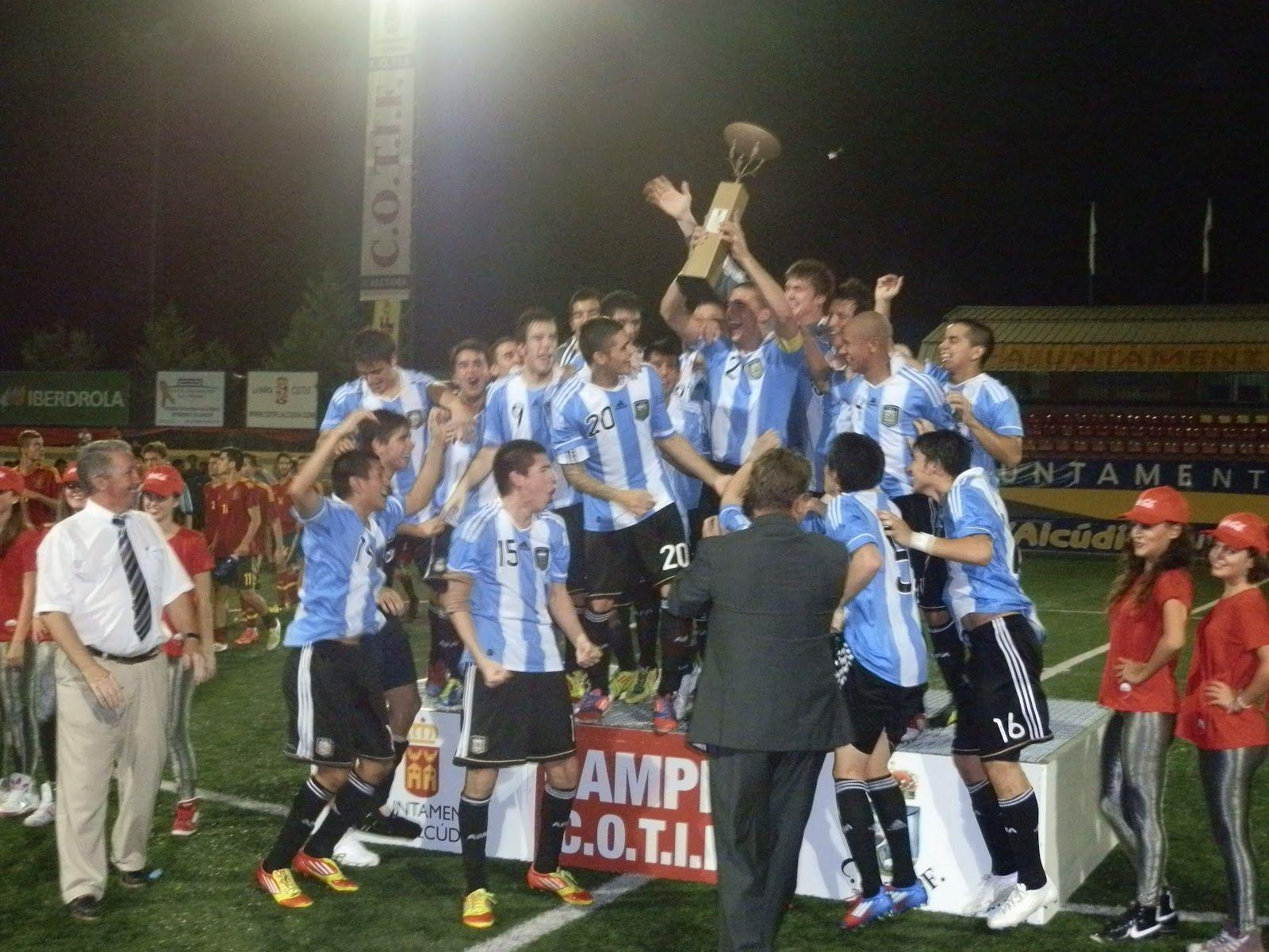 Argentina ganó en LAlcudia en 2012