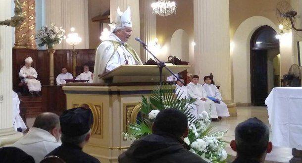 <b>Arzobispo de Tucumán Carlos Sánchez</b>