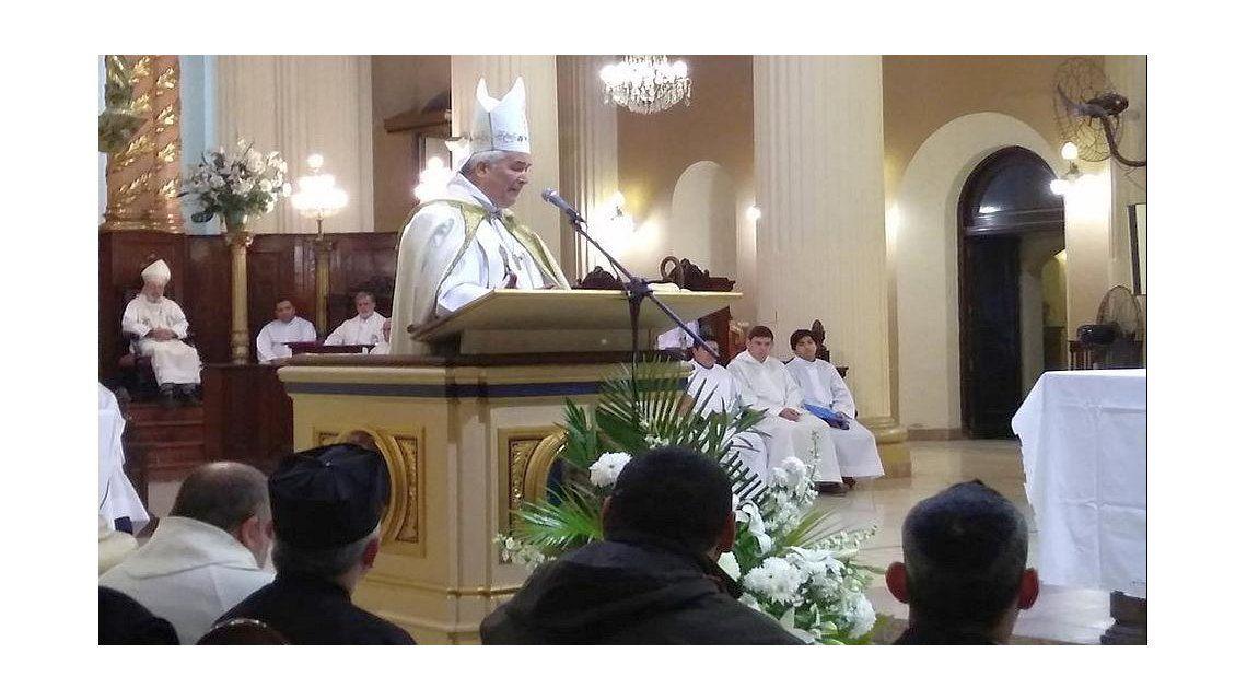 Arzobispo de Tucumán Carlos Sánchez