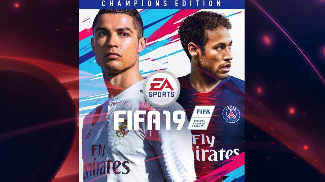 Con la llegada de CR7 a Juventus, la portada de FIFA19 está en problemas