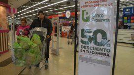 Vuelve la promoción del 50% de descuento para clientes del Banco Provincia en los supermercados