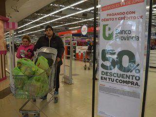 vuelve la promocion del 50% de descuento para clientes del banco provincia en los supermercados