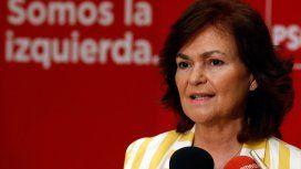 La vicepresidenta habló de una serie de medidas en materia de género que implementará el Gobierno