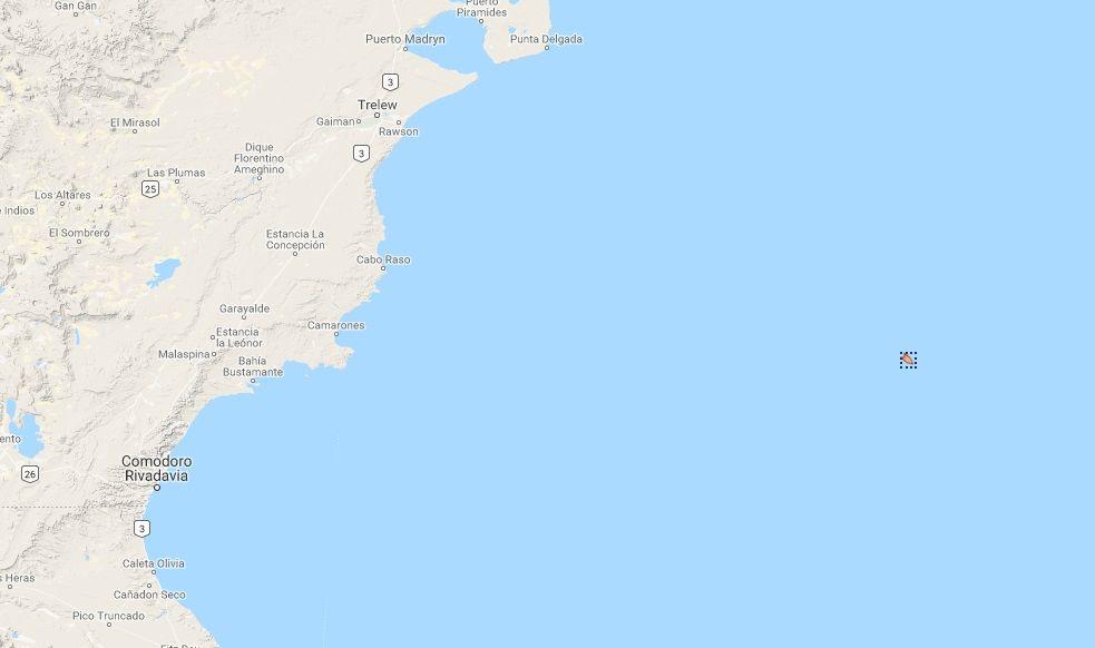 Se hundió un barco español en Comodoro Rivadavia: un muerto y un desaparecido