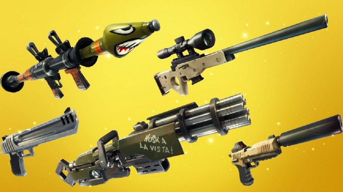 La importancia de los colores de las armas en Fortnite