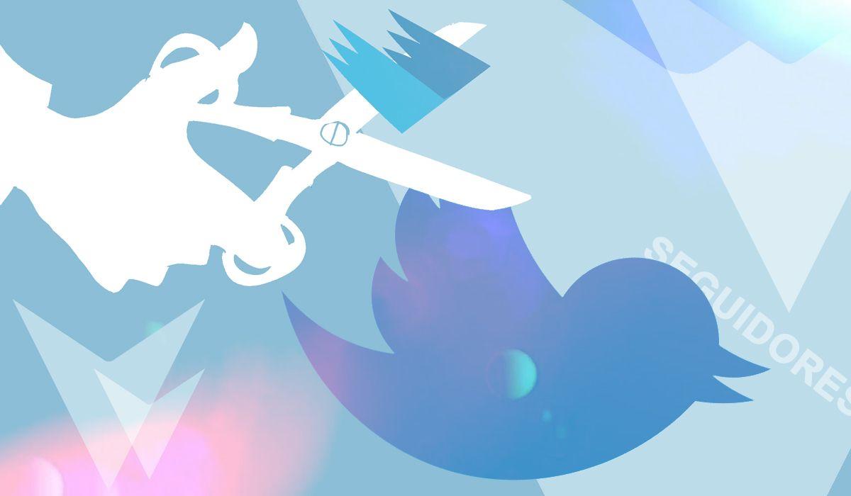 ¿Por qué Twitter está eliminando seguidores de los usuarios?