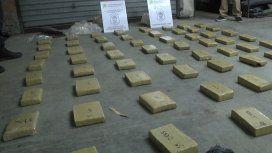 Secuestraron 90 kilos de marihuana en Don Torcuato