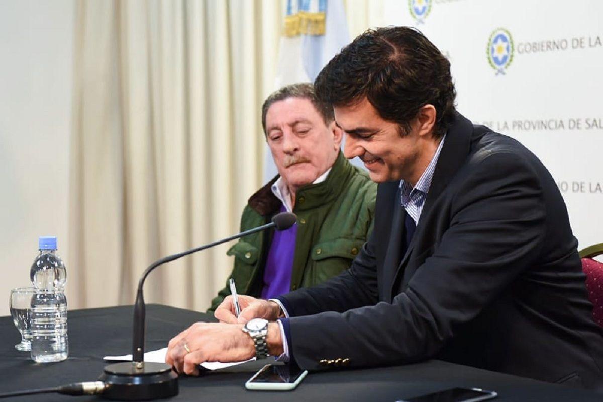 Juan Manuel Urtubey y Omar Viviani