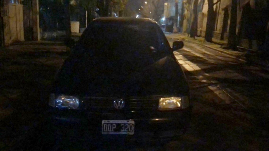 El auto de Pity Álvarez estaba enRamos Mejía