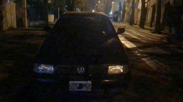 El auto de Pity Álvarez estaba en Ramos Mejía