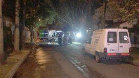 Personal de Policía Científica peritaba el auto de Pity Álvarez
