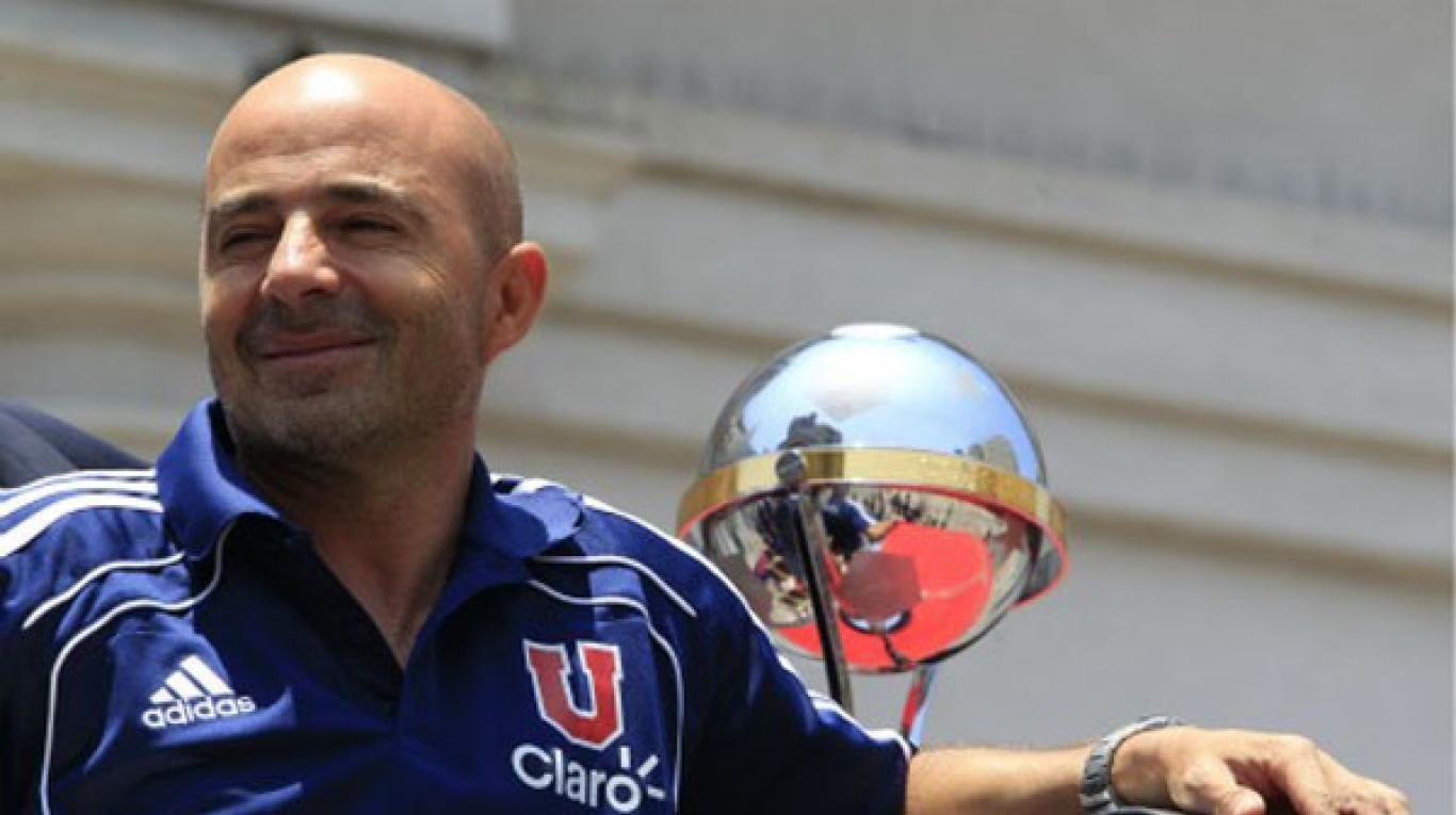 Jorge Sampaoli en la U de Chile