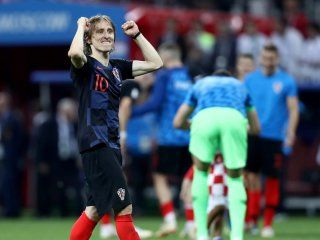 Luka Modric, la figura de Croacia