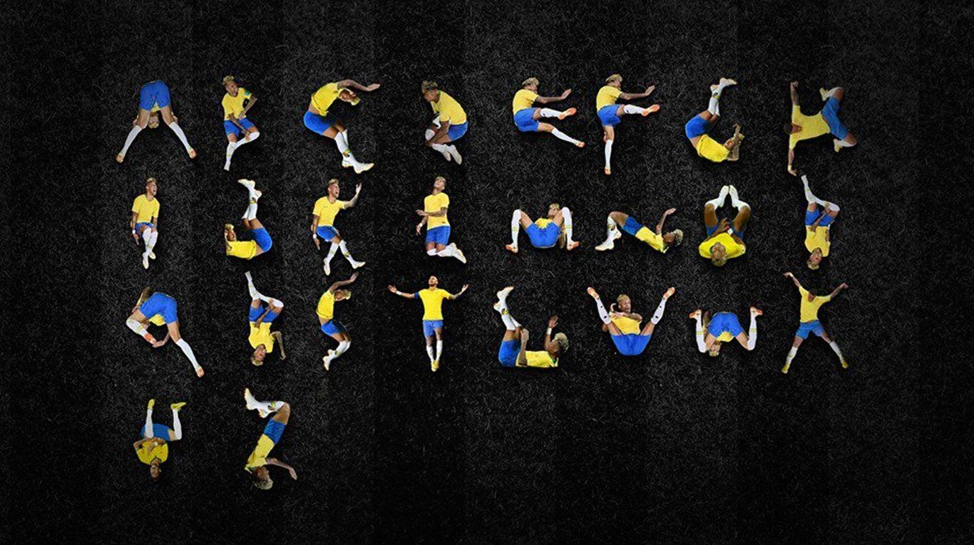 El alfabeto según las exageraciones de Neymar: el nuevo meme para burlarse del brasileño