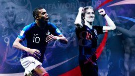 Termina el Mundial: Francia va por el bicampeonato y Croacia, por su primera estrella