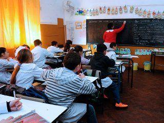 no descontaran los dias de paro a los docentes de provincia