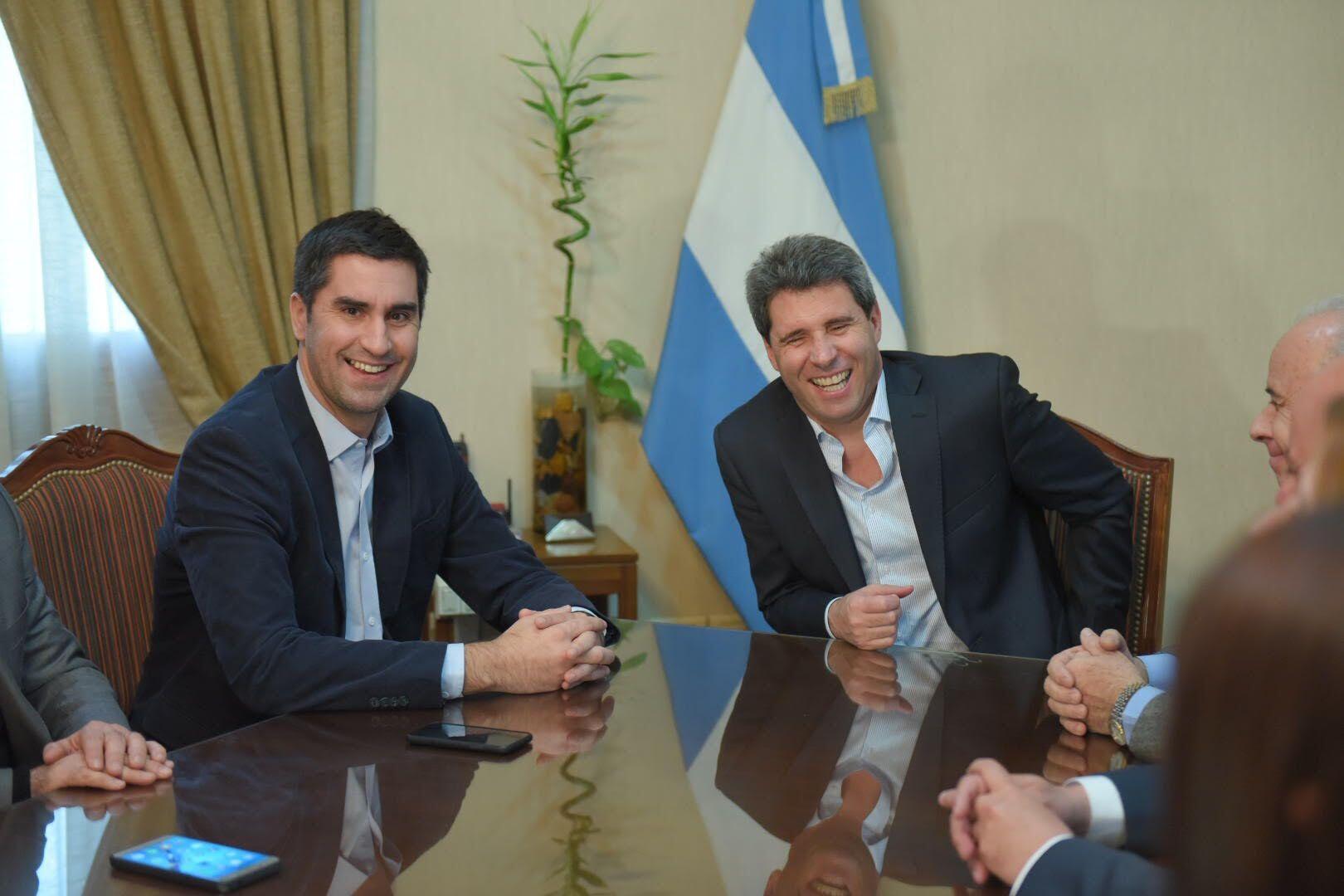 Manuel Mosca y Sergio Uñac almorzaron en San Juan