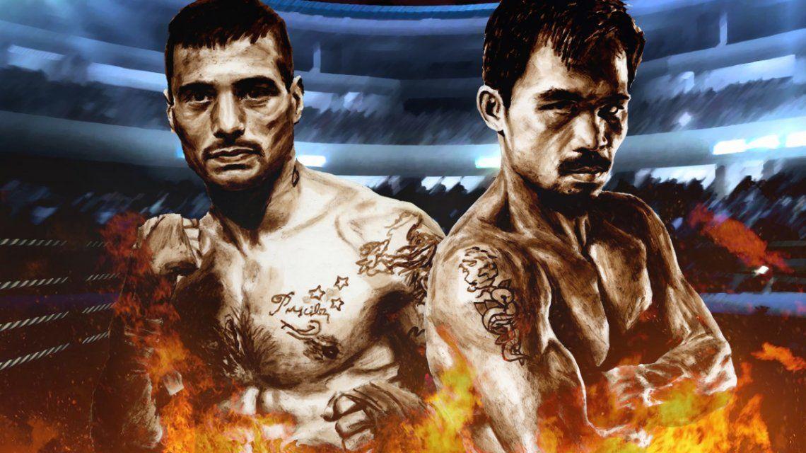 Lucas Mathyse-Manny Pacquiao: horario, peleas y TV