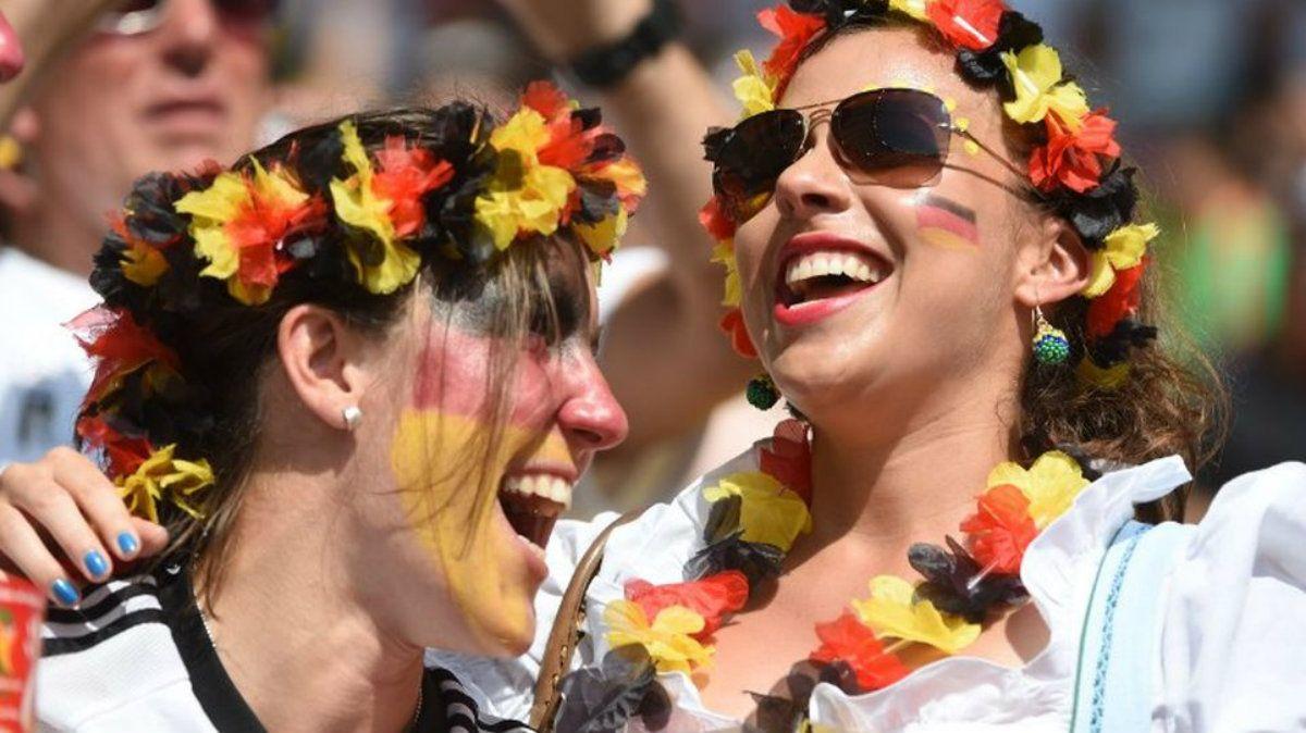 Las chicas de Alemania sonrieron poco durante el Mundial