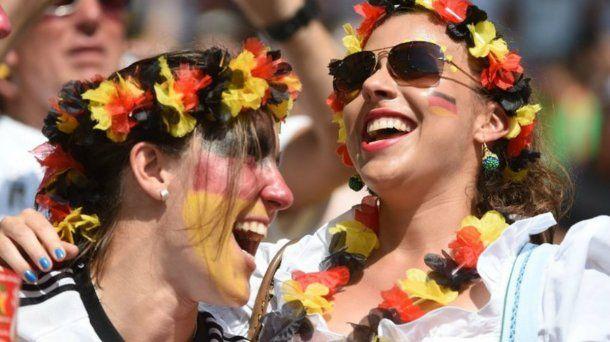 Las chicas de Alemania sonrieron poco durante el Mundial, pero se las vio
