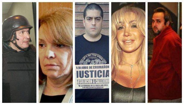 <p>Jos&eacute; L&oacute;pez, Susana Freydoz, Patricio Santos Fontanet, Giselle R&iacute;molo y Mart&iacute;n R&iacute;os</p>