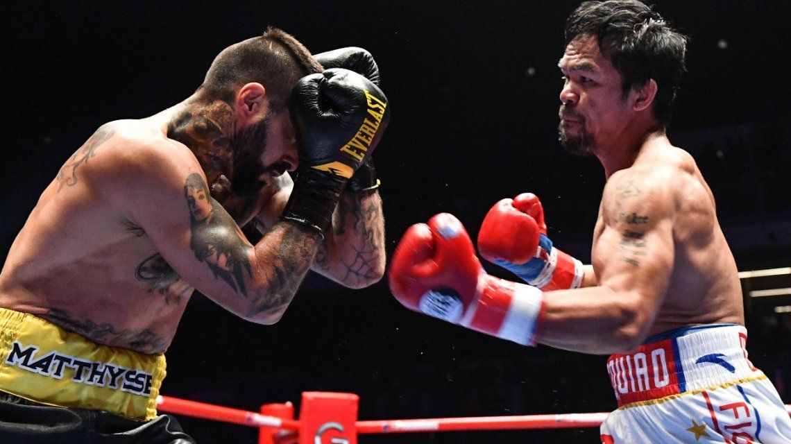 Lucas Matthysse vs Manny Pacquiao