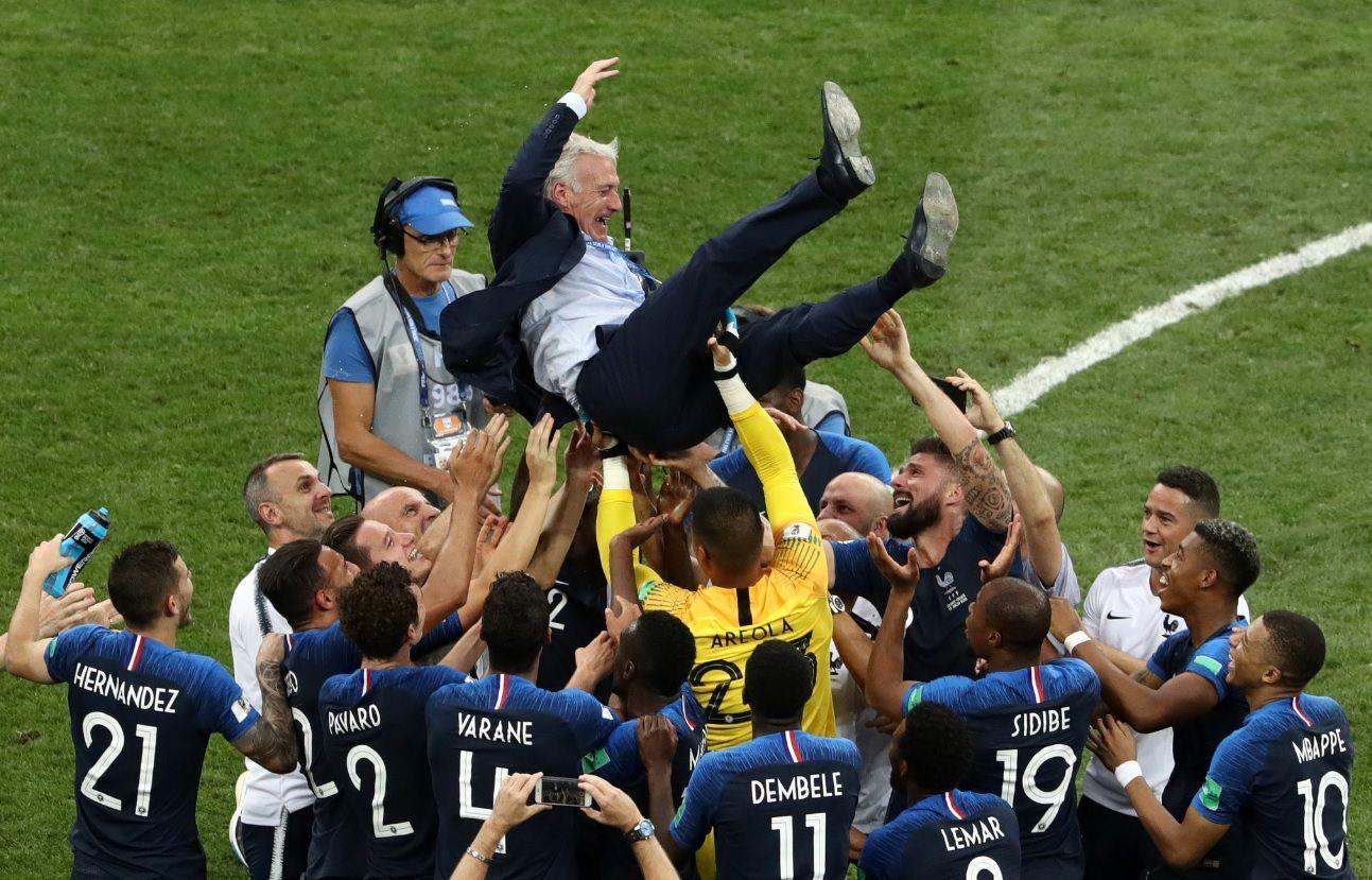 VIDEOS: El festejo alocado de los campeones del mundo