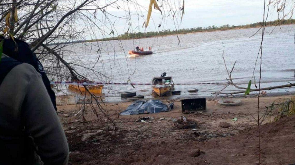 Naufragio en el Río Paraná: murió un hombre y otros cuatro están desaparecidos