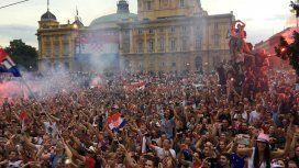 Los hinchas croatas entonaron un clásico de La Mosca para celebrar el subcampeonato