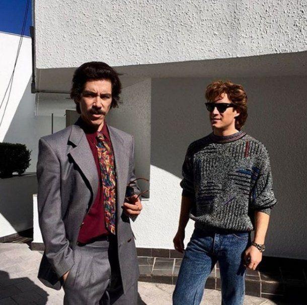 <div>Luis Miguel y su padre en la serie - Cr??dito: Instagram Diego Boneta</div><div><br></div>