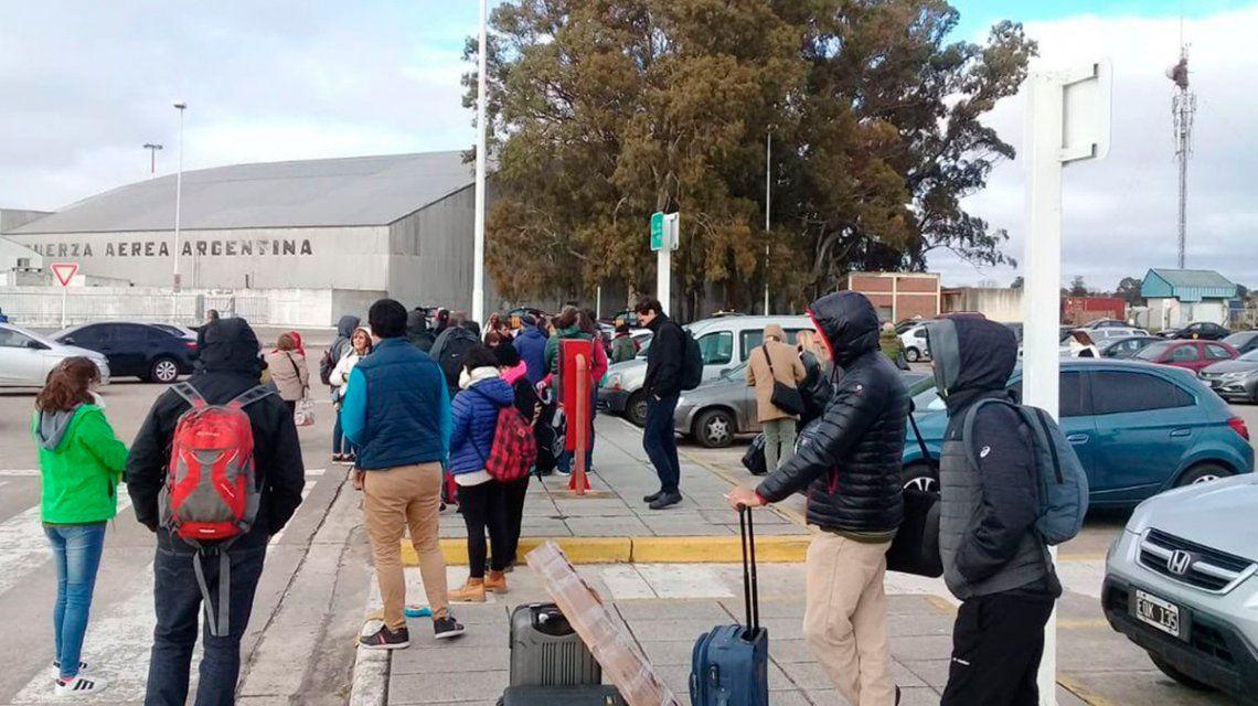 Insólito: la granada por la que evacuaron el aeropuerto de Mar del Plata era un picador de marihuana