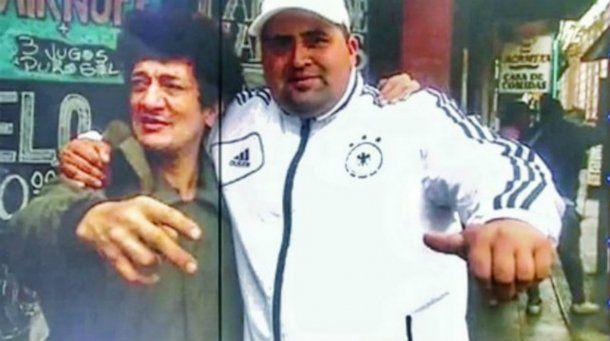 Álvarez mató de cuatro disparos a Cristian Díaz, que tenía esta foto en su celular