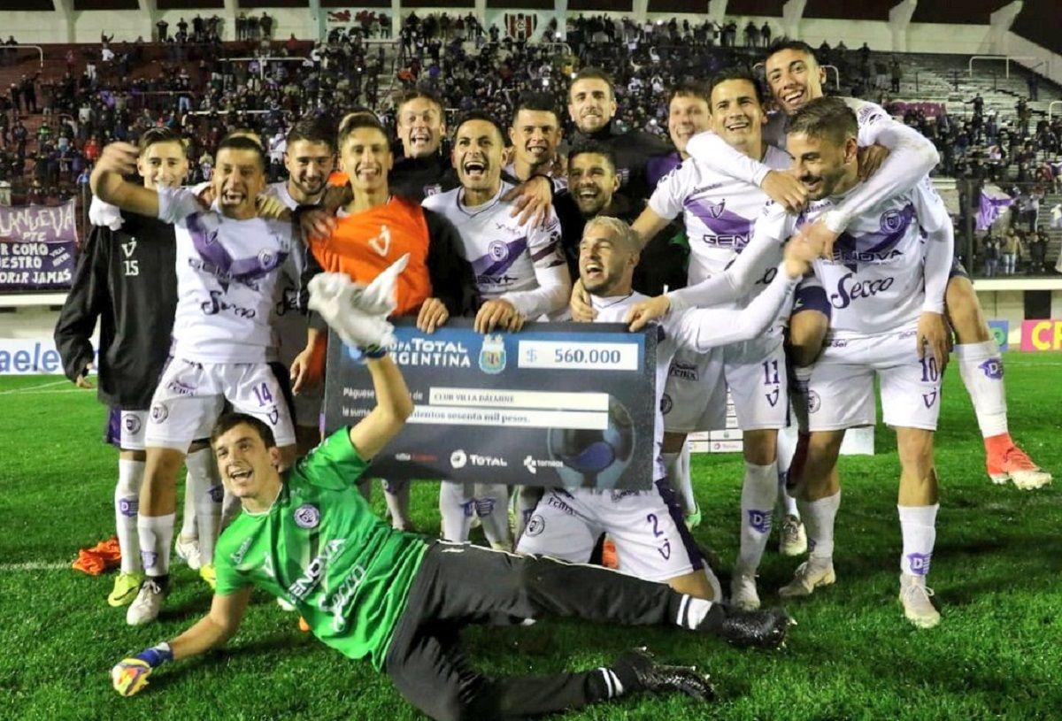 Villa Dalmine eliminó a la UAI Urquiza y está en dieciseisavos de final