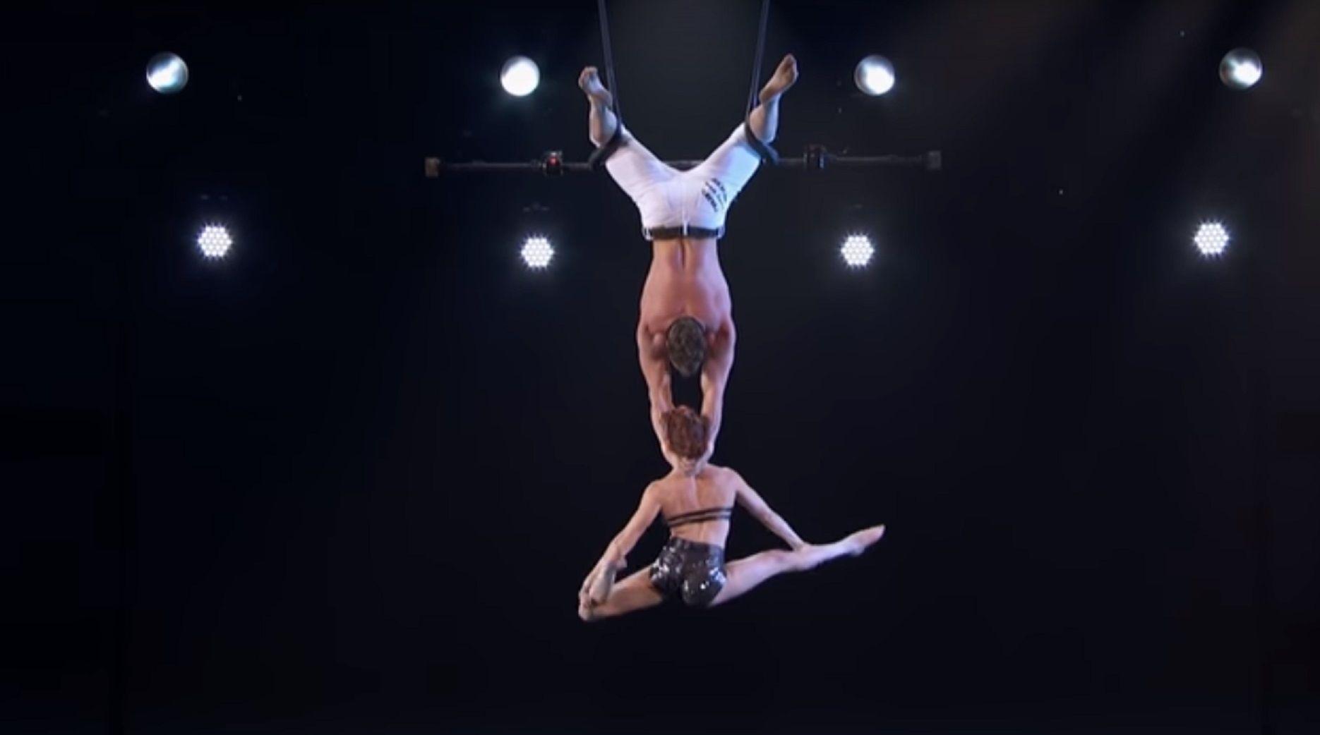 VIDEO: Impresionante accidente de una trapecista durante un programa de talentos