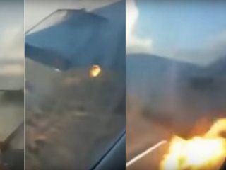 Así fue el accidente del avión en Sudáfrica